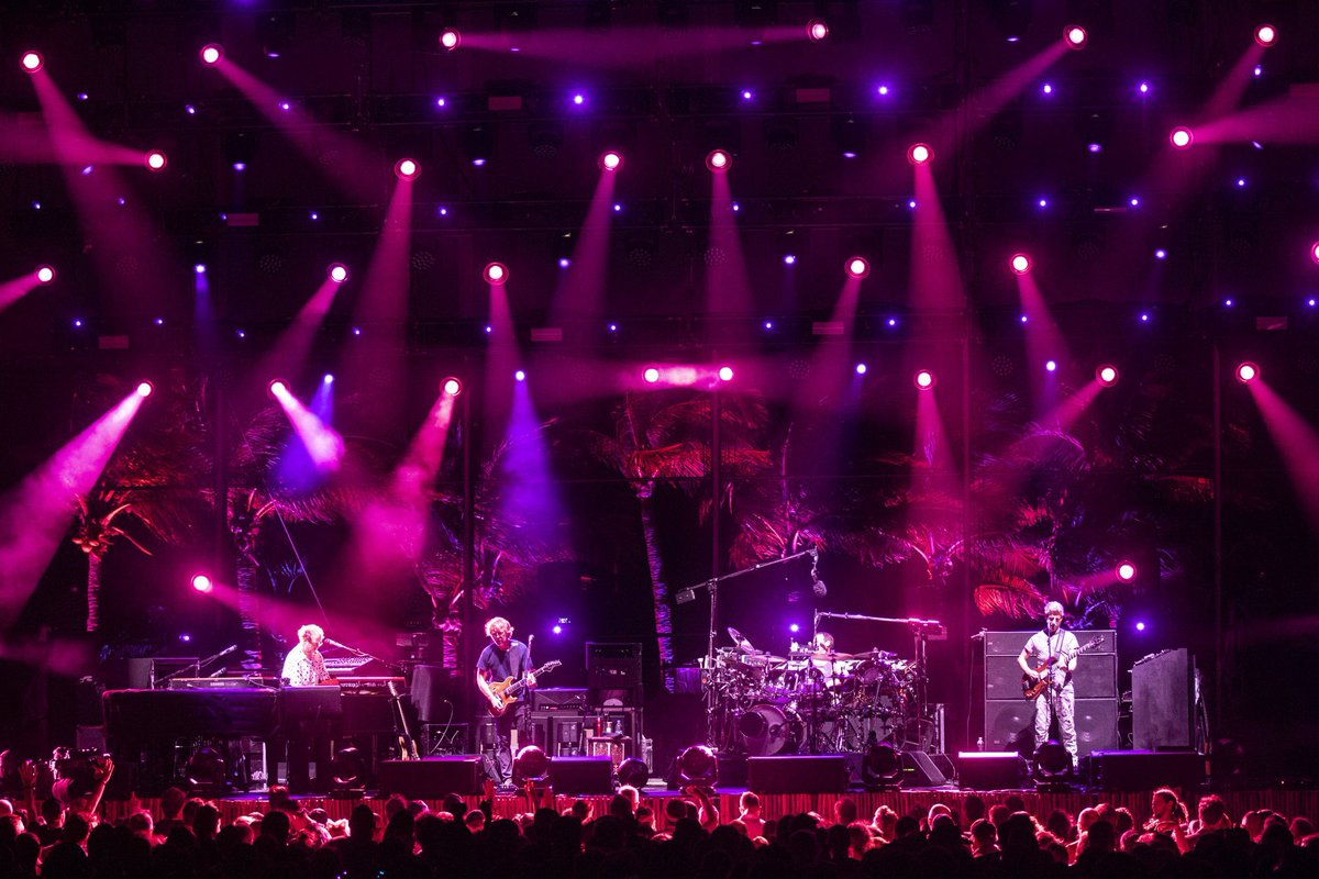© 2019 Phish, on stage at Riviera Maya (Rene Huemer)