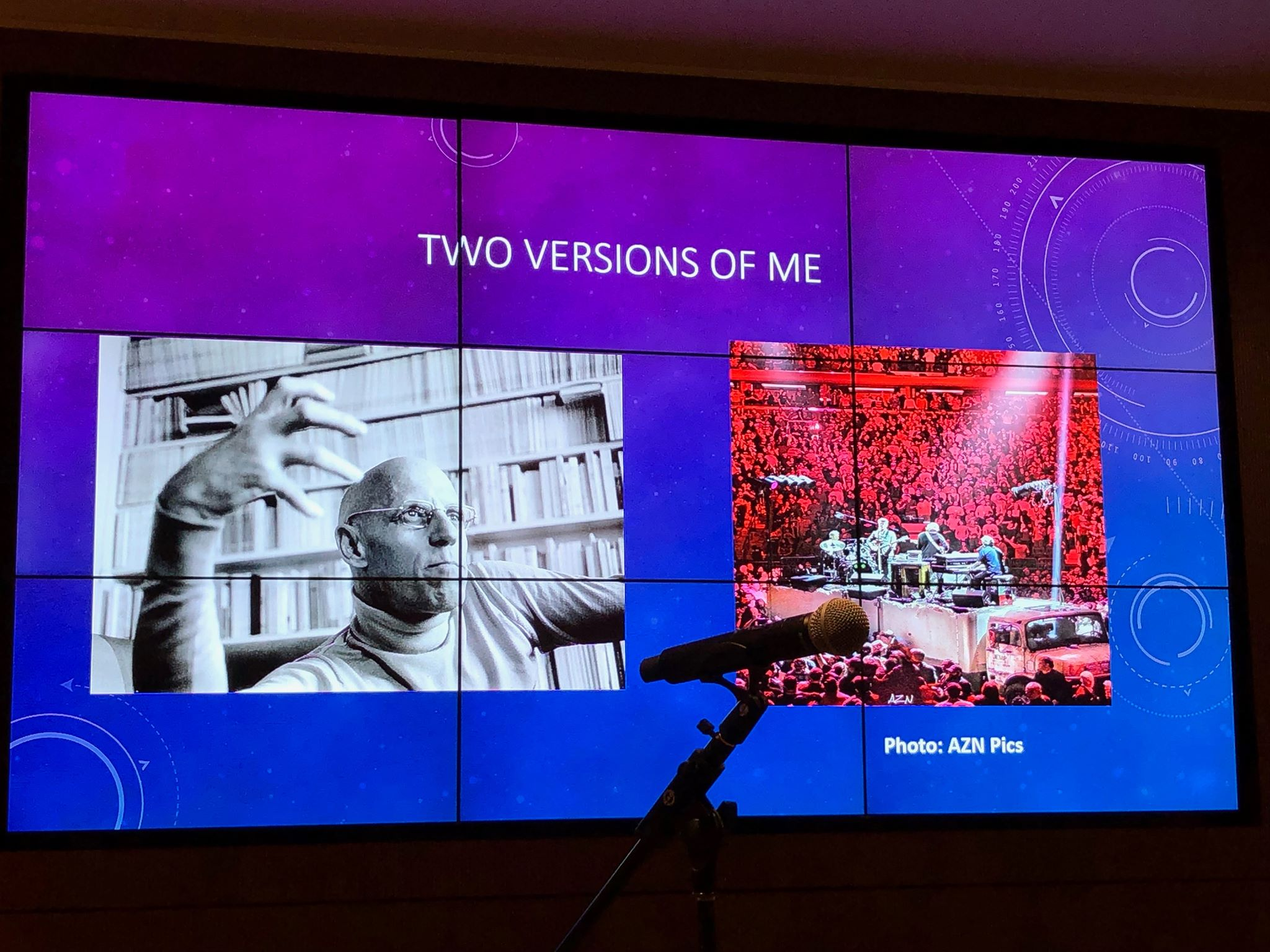 Photo © 2019 Blau (a slide at the Phish Studies conference)
