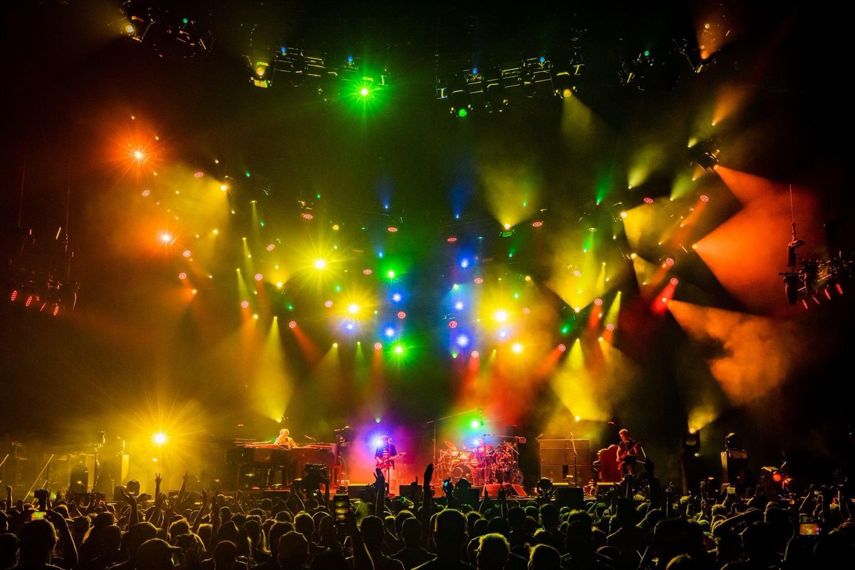 © 2019 Phish (courtesy of @AliveCoverage and @Phish_FTR)