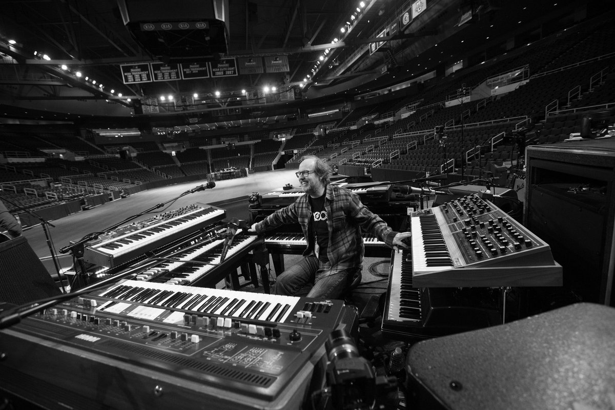 © 2019 Phish (Page at soundcheck) (Rene Huemer)