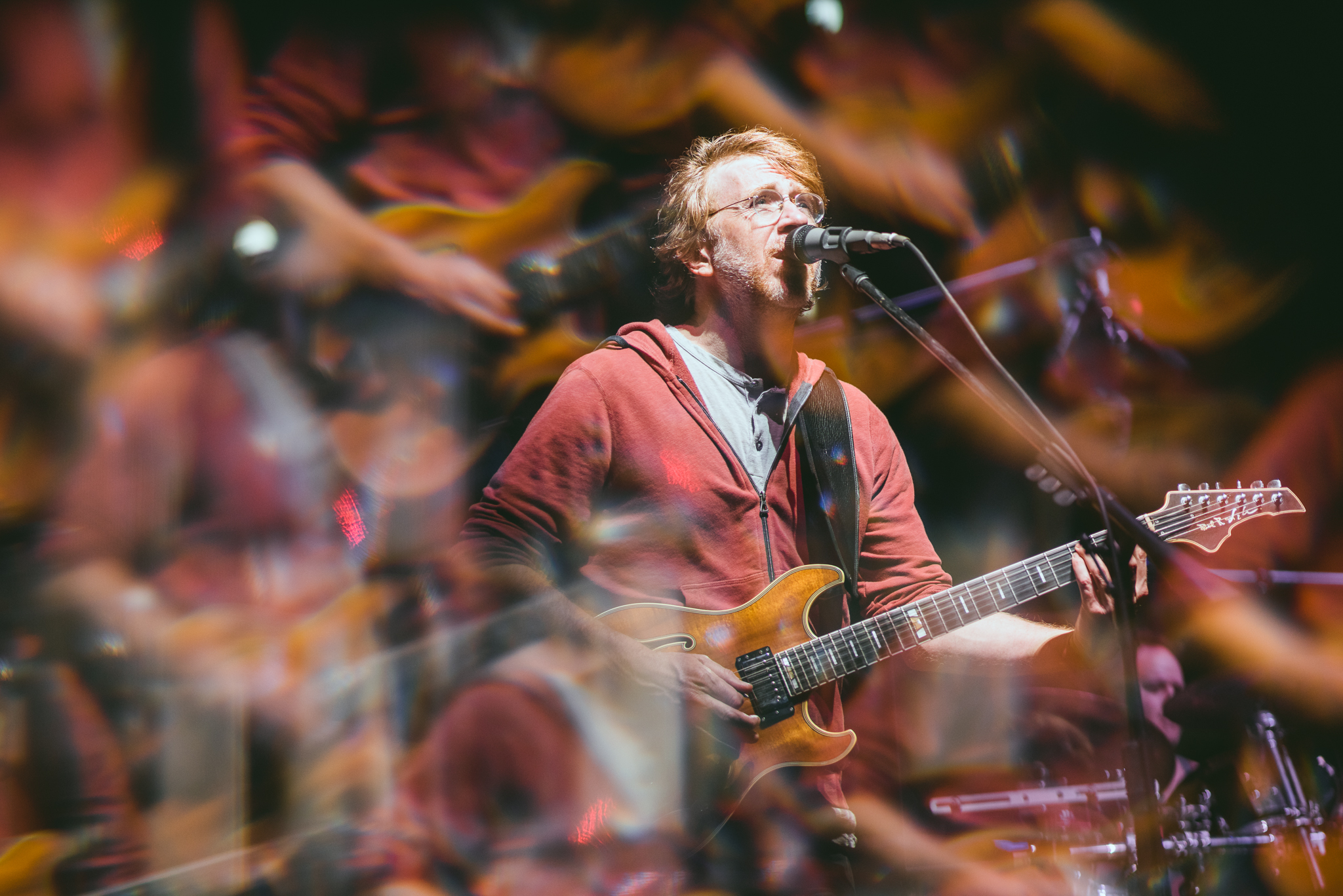 Photo © Phish, taken by aLIVE Coverage
