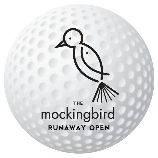 Runaway Open golf ball